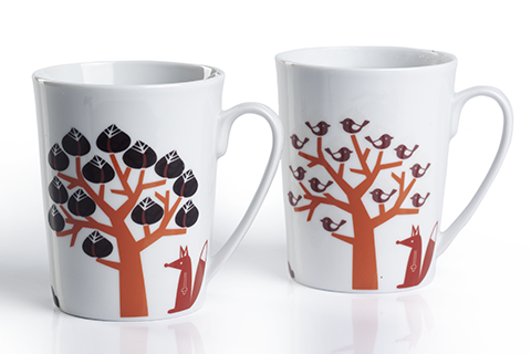 Color Changing Mug - Under the Trees